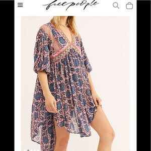 Free people 🌚 moon child maxi top
